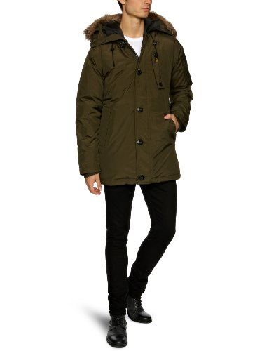 G Star Mountain Hooded Parka Men's Jacket Arsenic Medium