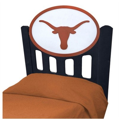 Cheap University of Texas Longhorns Kids Wooden Twin Headboard With Logo (B002M06122)