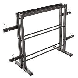 Marcy DBR-0117 Combo Weights Storage Rack
