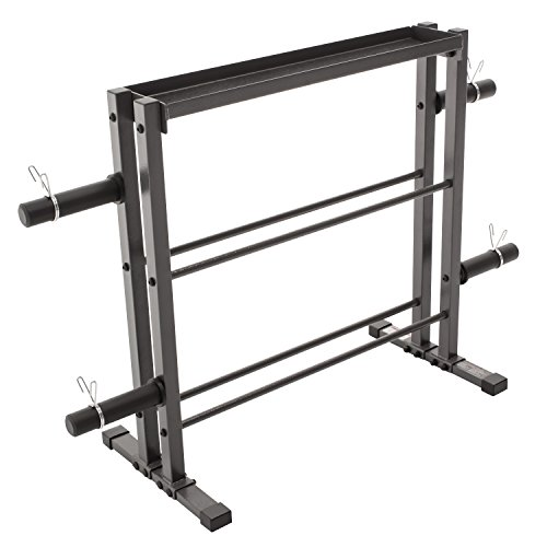Marcy DBR-0117 Combo Weights Storage Rack (Weight Rack Plates compare prices)