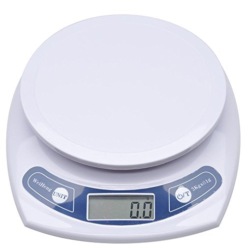 To TSdrena dish convenient 0.1g unit / maximum Weighing 3kg digital cooking scale (scales) HEM-KDS301P-W (japan import)