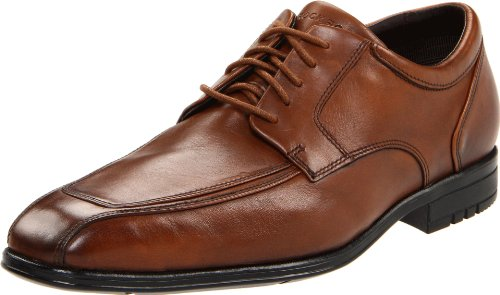 Rockport Men's Fairwood Moc Front Waterproof Light Tan Shoe K57767  7 UK , 40.5 EU , 7.5 US