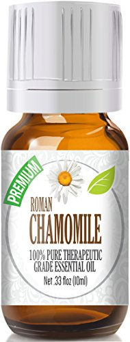 Chamomile Essential Oil, Roman 100% Pure, Best Therapeutic Grade - 10ml