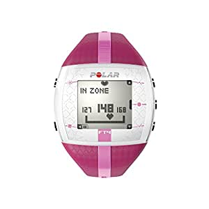 Polar Bike computer with heart monitor FT4F purple pink