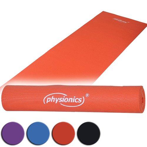 Gymnastik Rot 0.5 x 180 x 60 cm Yogamatte Pilates, FNMT02-0.5