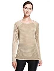 Autograph Ripple Sheer Jumper