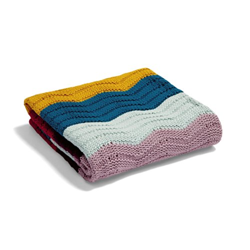 Mamas & Papas Knitted Blanket - Small Wave