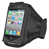 DIGIFLEX Gym Running and Sports Armband for iPhone iPod 4 4G 3GS 3G iPod Touch Black