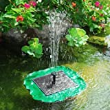 Sunny Lily Floating Solar Pond Fountain Pump