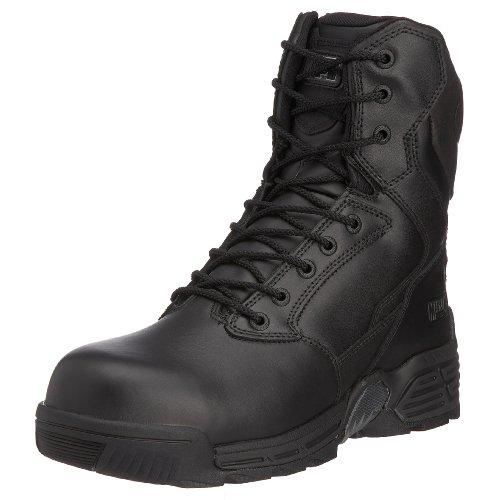 Magnum Unisex Adult Stealth Force 8.0 Leather Ct/cp Black  Boot 37741/069 11 UK