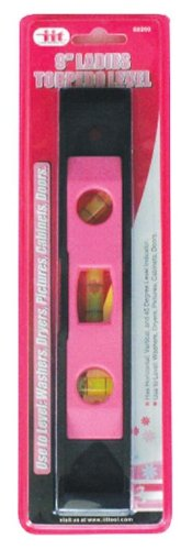 Iit 88200 Ladies Pink 9-Inch Torpedo Level