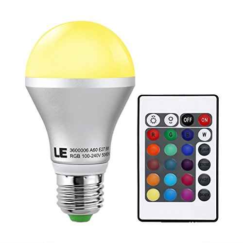 le-dimmable-a19-e26-rgb-led-bulbs-color-changing-160-beam-angle-5w-16-color-choice-remote-controller