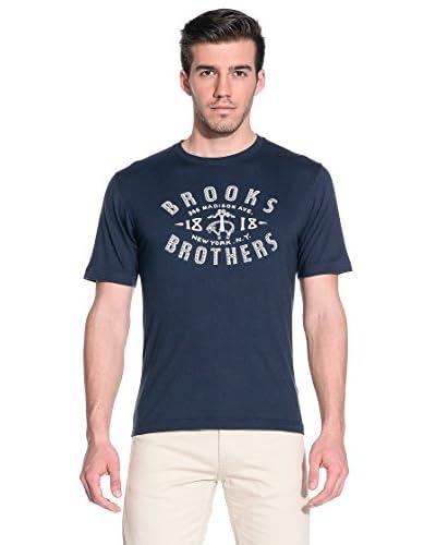 Brooks Brothers T-Shirt Manica Corta [Blu]