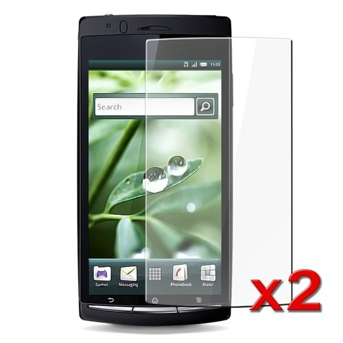 Sony Ericsson Xperia Arc X12 Screen Protector (2 PACK, CRYSTAL)