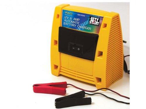EBC0006 Car Battery Charger 12 Volt (6 amp)