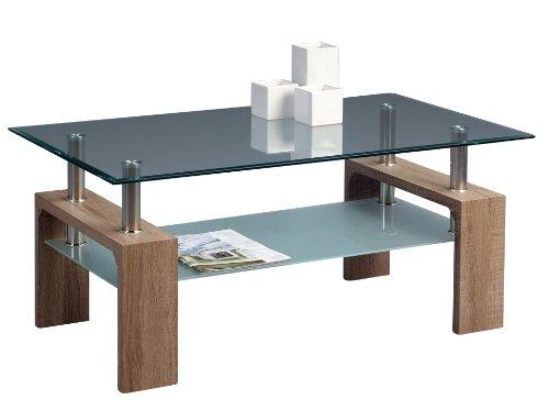 couchtisch sonoma eiche rechteckig g nstig kaufen. Black Bedroom Furniture Sets. Home Design Ideas