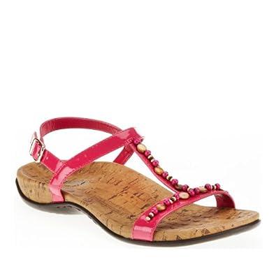 Orthaheel Womens Bali Slingback Sandal Raspberry Size 7