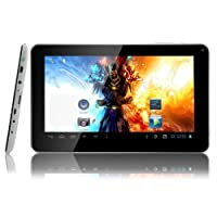 "Digital Reins 9"" Inch Tablet PC - Google Android 4.2 WiFi 8GB 512DDR3 Dual Camera & Dual Core - A23 Processor - Supports Skype Video Chatting, YouTube, Google Play"
