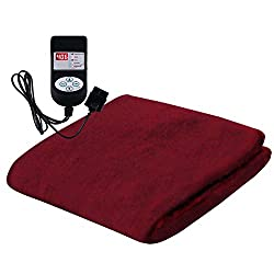 Winter Care Automatic Velvet Blanket - Cherry (36 x 72)