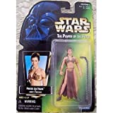Star Wars - POTF - Picture Card - Princess Leia Organa (Slave) - as Jabba's Prisoner