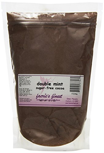 Faeries Finest Sugar-Free Cocoa, Double Mint, 16 Ounce
