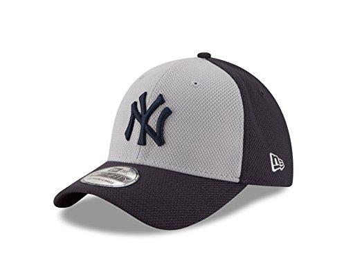 MLB New York Yankees Adult Diamond Era 39Thirty Stretch Fit Cap, Large/X-Large, Gray (Cap Mlb New Era compare prices)
