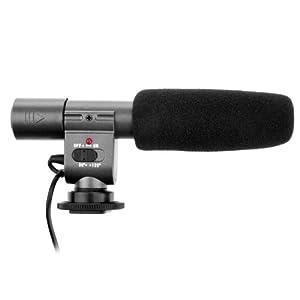 Microphone stéréo Pro DV SG-108 SG108, 3.5mm pour micro MIC, compatible avec les caméscopes Canon 5D Mark II, 7D, 550D, 600D, Nikon et Sony, JVC, et Samsung