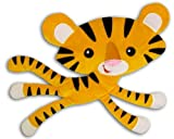Fisher Price Animals of the Rainforest Stripe Tiger Soft Wall Hanging