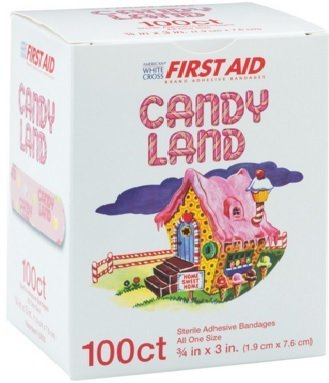 candy-land-sterile-adhesive-bandages-100-count