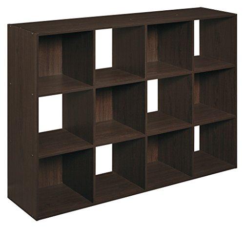 closetmaid 1292 cubeicals 12 cube organizer espresso b00h8rdtlu amazon price tracker. Black Bedroom Furniture Sets. Home Design Ideas
