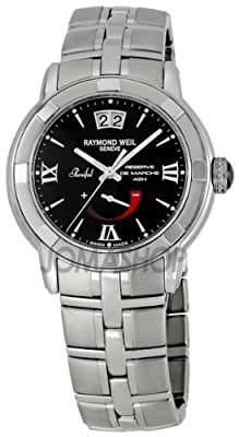 Raymond Weil Men's 2843-ST-00207 Parsifal Black Dial Watch from Raymond Weil