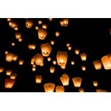 Sky Lanterns(Pack Of 10)