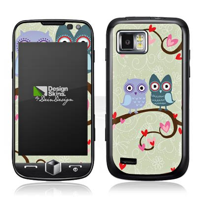 Skins Design f&#252;r Dating Owls Omnia 2 I8000 - Samsung Design Folie