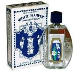 White Flower Oil 0.67 Ounces