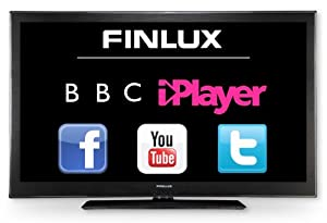 Finlux 46 Inch Smart DLNA Full HD 1080p LED TV Freeview HD Widescreen PVR Black - 46S8030-T