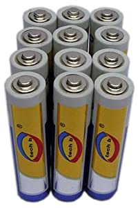 Tech B BTAA1201 AA Batteries 12-Pack Alkaline