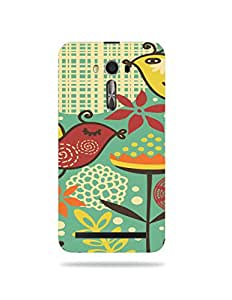 alDivo Premium Quality Printed Mobile Back Cover For Asus ZenFone 2 Laser ZE601KL / Asus ZenFone 2 Laser ZE601KL Printed Mobile Case (XT-037S-3D-A7-AZ2LZE601)