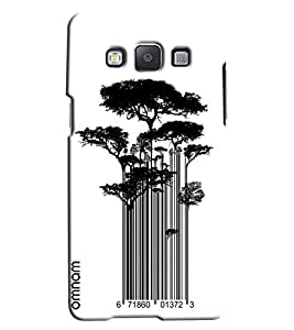 Omnam Tree Made Of Bar Code Printed Designer Back Cover Case For Samsung Galaxy A7]