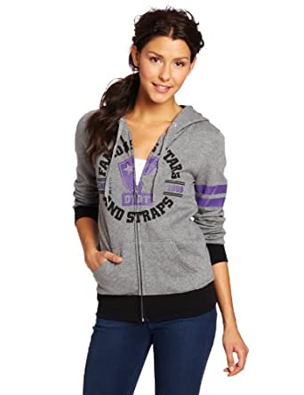 Famous Stars and Straps Juniors Jackson Basic Zip Hoodie, Athletic Heather, Large
