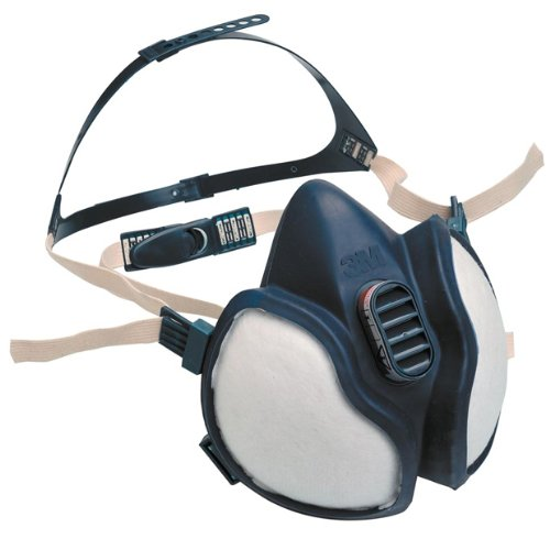 3M 4255 Organic Gas Vapour Particulate Respirator Face Mask Breathing Apparatus - Comes with TCH Anti-Bacterial Pen!
