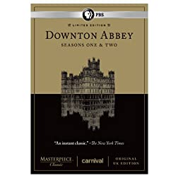 Downton Abbey Seasons 1 & 2 Limited Edition Set - Original UK Version