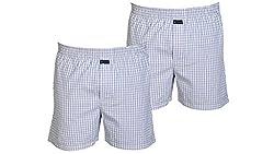 Careus Men's Cotton Boxers (Pack of 2)(1017_1017_Multi-coloured_Large)