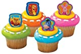 Winnie The Pooh And Friends Cupcake Rings - 12 count