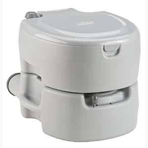Amazon Com Coleman Portable Flush Toilet Camping