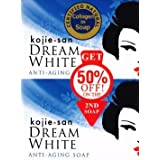 Kojie San Dream White Kojic Lightening Anti Aging Soap (2x135g Bars)