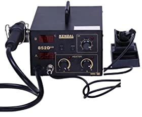 Reviews Kendal 2 In 1 Smd Hot Air Rework Soldering Iron Station 852d Hot Air Reflow Sale Abfkjsula