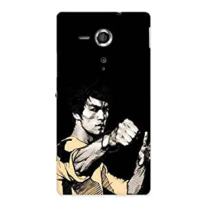 Gorgeous Bruce Punch Back Case Cover for Sony Xperia SP