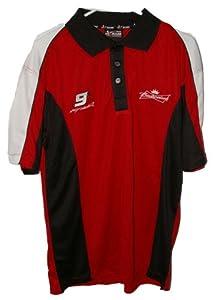 Buy Budweiser #9 Kasey Kahne Licensed NASCAR Polo Shirt Large by Motorsport Authentics