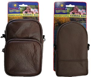 Brown All Purpose Accessories Pouch 2-pcs. Set (1908-2)