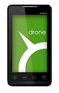 Unnecto U-660-2NA Drone Unlocked GSM Quad-Band Mobile Phone - US Warranty - Silver